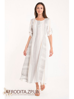 Длинное платье David DB21-018