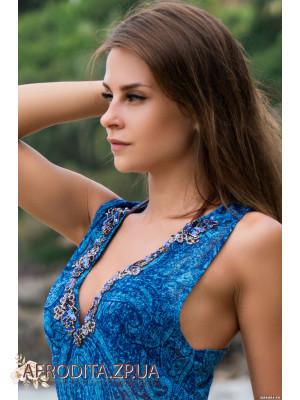 """Пляжное платье """"Ривьера"""" 8258"""