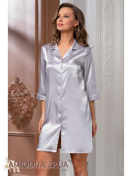 """Женский халат-рубашка """"Джулия"""" 8737"""