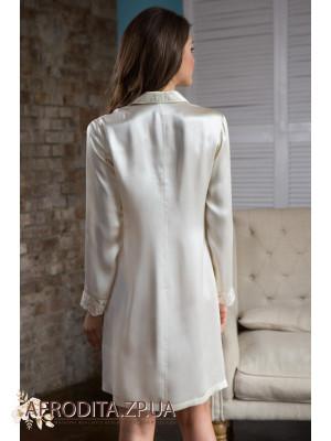 """Женская рубашка-халат """"Кристи"""" 15114"""