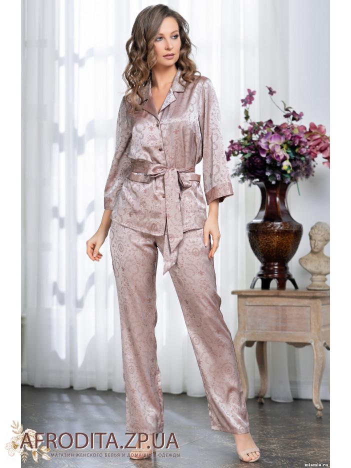 Атласная пижамка из Италии — качество достойное вашей красоты