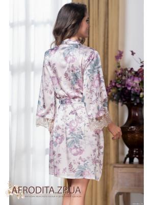 "Короткий женский халат ""Миракл"" 3544"