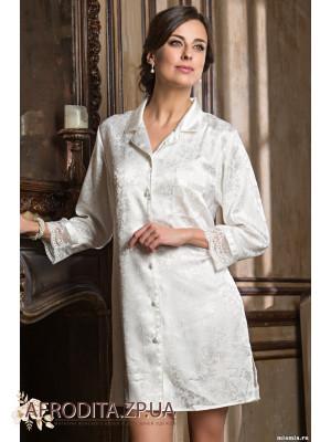 """Стильная рубашка-халат  """"Ангелина"""" 9537"""