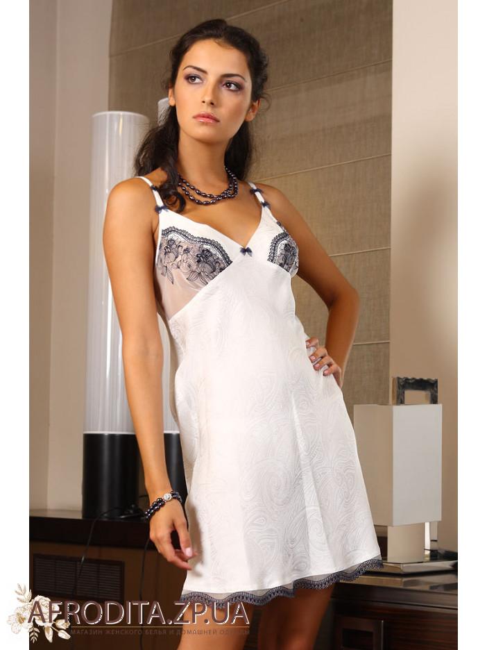 женская ночная сорочка шелковая