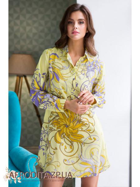 """Рубашка """"Лимончелла"""" 16226"""