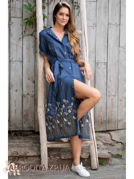 """Длинное платье """"Аризона"""" 1215"""